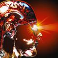 Human Brain by Geoff Tompkinson