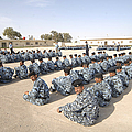 Iraqi Police Cadets Being Trained by Andrew Chittock