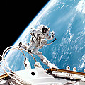 Iss Space Walk by Nasa