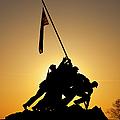 Iwo Jima Memorial by Brian Jannsen