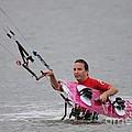 Kite Boarding by Jeanne Andrews