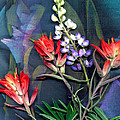Lupin And Indian Paintbrush by George  Page