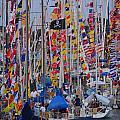 Mackinac Race by Randy J Heath