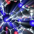 Molecule, Artwork by Pasieka