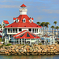 Parker's Lighthouse Restaurant by Mariola Bitner