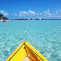 Relaxing At Coco Cay In The Bahamas by Allan  Hughes