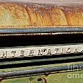 Rusted Antique International Car Brand Ornament by ELITE IMAGE photography By Chad McDermott