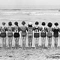 Silent Film Still: Beach by Granger