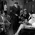 Silent Film Still: Trains by Granger