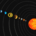 Solar System by Carbon Lotus