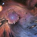 Starbirth Region, Artwork by Richard Bizley