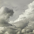 Storm Clouds And Thunder Heads Before Rain Storm Fine Art Print by Keith Webber Jr