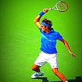 Tennis Art by Carl Schroeder III