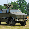 The Dingo 2 In Use By The Belgian Army by Luc De Jaeger