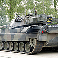 The Leopard 1a5 Of The Belgian Army by Luc De Jaeger