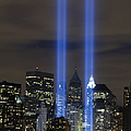 The Tribute In Light Memorial by Stocktrek Images