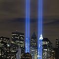 The Tribute In Light Memorial by Stocktrek Images