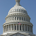 The United States Capitol Building Dome by Terry Moore