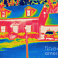Thermogram Of A House by Ted Kinsman