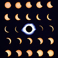 Timelapse Image Of A Total Solar Eclipse by Dr Fred Espenak