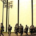 U.s. Army Soldiers Prepare To Board by Stocktrek Images