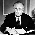 Franklin D. Roosevelt by Granger