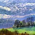 Landscape by Odon Czintos