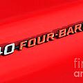 340 Four Barrel by Vivian Christopher