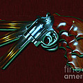 357 Magnum - Painterly by Wingsdomain Art and Photography
