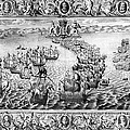 Spanish Armada, 1588 by Granger