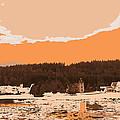 Norway  Landscape by Augusta Stylianou