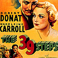 39 Steps, The, Robert Donat, Madeleine by Everett