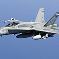 A Cf-188a Hornet Of The Royal Canadian by Gert Kromhout