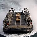 A Landing Craft Air Cushion Transits by Stocktrek Images