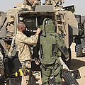 A U.s. Marine Gets Suited by Terry Moore