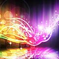 Abstract Lighting Effect  by Setsiri Silapasuwanchai
