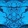 Blue Paint by Odon Czintos