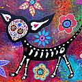 Chihuahua Day Of The Dead by Pristine Cartera Turkus