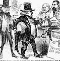 Civil War: Cartoon, 1861 by Granger