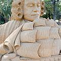 Fairytale Sand Sculpture  by Sv