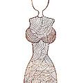 Fashion Sketch by Frank Tschakert