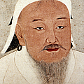 Genghis Khan (1162-1227) by Granger