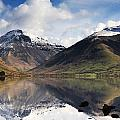 Mountains And Lake, Lake District by John Short