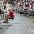 Port Huron To Mackinac Race by Randy J Heath