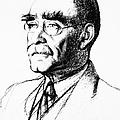 Rudyard Kipling (1865-1936) by Granger