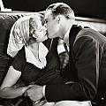 Silent Film Still: Kissing by Granger