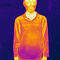 Thermogram Of A Boy by Ted Kinsman
