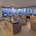 Usa Hi Honolulu Upscale Living Room by Rob Tilley