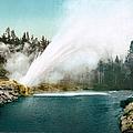 Yellowstone Park: Geyser by Granger