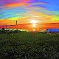 49- Electric Sunrise by Joseph Keane